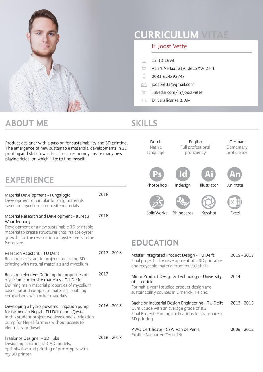 CV Joost Vette (1)